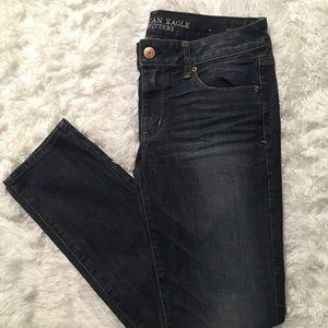 American Eagle Jeans Skinny Super Stretch 8 Short